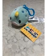 "Fiesta Toys Lil Huggy Narwhal Soft Plush Keychain 3.5"" A17 - $9.95"