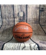KEVIN MCHALE AUTOGRAPHED/SIGNED SPALDING BASKETBALL JSA AUTHENTICATED - £67.73 GBP