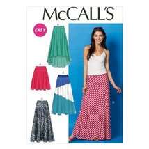 "McCall Pattern Company M6966 Misses' Skirts, Size ZZ ""LRG-XLG-XXL"" - $14.21"