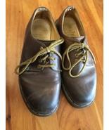 Dr. Martens Original Brown Leather 5 1561/59 4 eye Oxfords Docs Made in ... - $19.79
