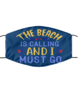 The Beach Is Calling And I Must Go, summer vacation - Navy Blue Multi-la... - £12.28 GBP