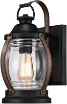 Westinghouse Lighting 6335100 Canyon One-Light Outdoor Wall Fixture, Textured Bl - $73.58