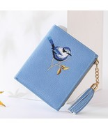 Wallet Women Bird Embroidery Portefeuille Femme Zipper Hasp Short Purse ... - £11.60 GBP