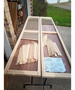 """Louvered Wood Exterior Shutters Pinecroft 2-Pack Unfinished Natural 15""""W... - $81.99"""