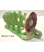 Rare Hard to Find Staffordshire SHORTER and SON Majolica Napkin or Toast... - $32.95
