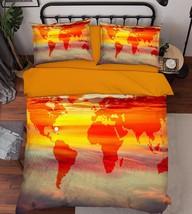 3D Sky Map 203 Bed Pillowcases Quilt Duvet Cover Set Single Queen King Size AU - $90.04+