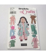 """Simplicity 5276 Clothes for 18"""" Fashion Doll - $11.64"""