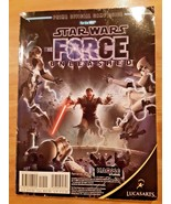 Star Wars The Force Unleashed Manual for Nintendo Wii/Xbox/PS3 - $8.89