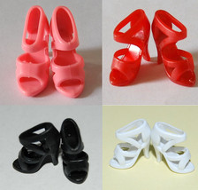 New 100 Pairs fashion Shoes For Barbie Doll (4 color) -- Free Ship  Barby - $14.95