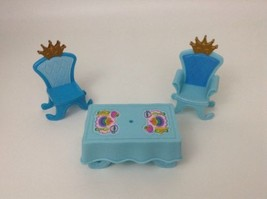 REPLACEMENT Fisher Price Dance and Twirl Palace King Queen Chairs & Tabl... - $12.82