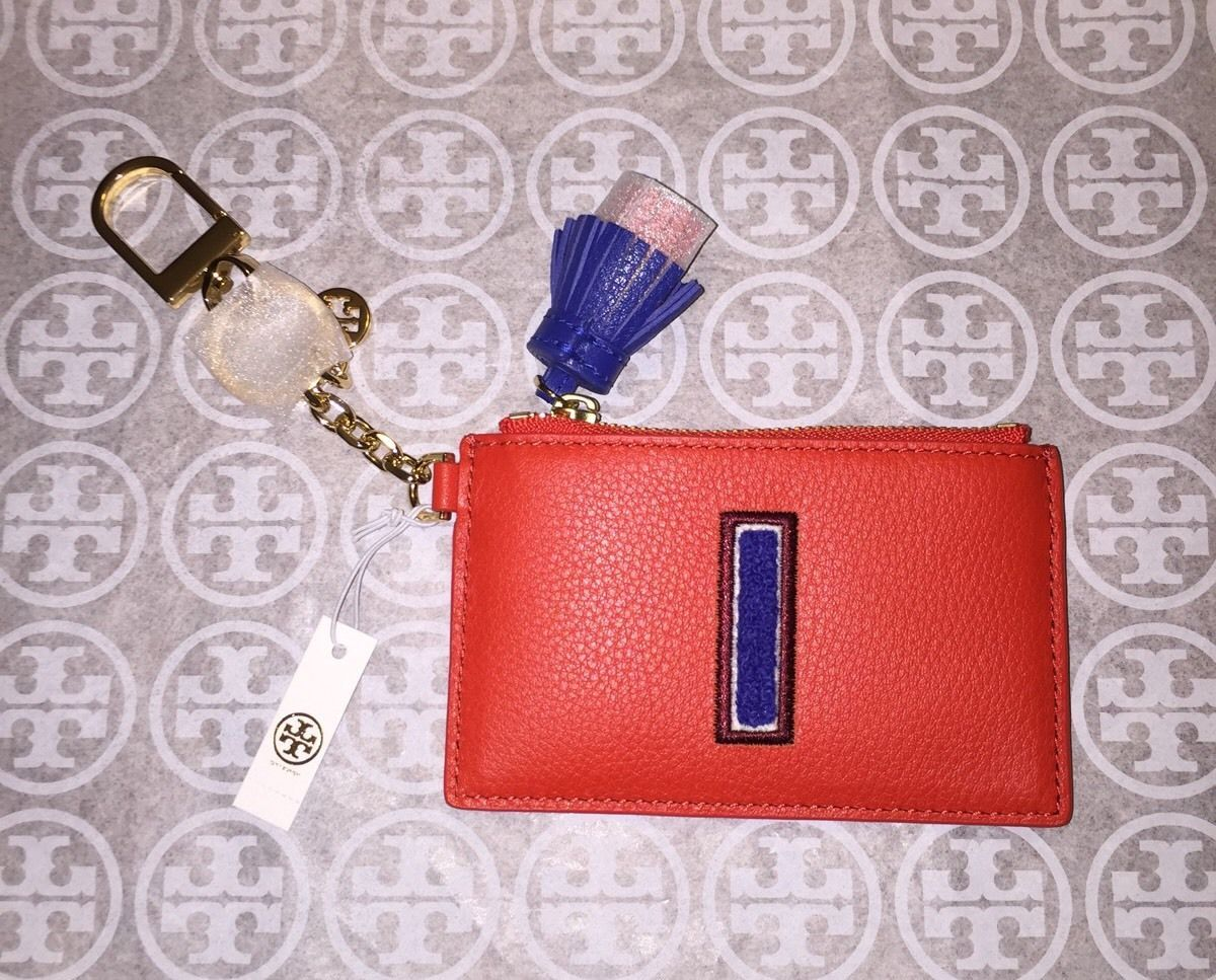 262239372450 NWT Tory Burch Monogram Card Case Key Fob and 50 similar items