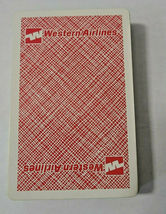 Western Airlines Kent St. Paul, Minn Deck of Playing Cards   (#42) image 3
