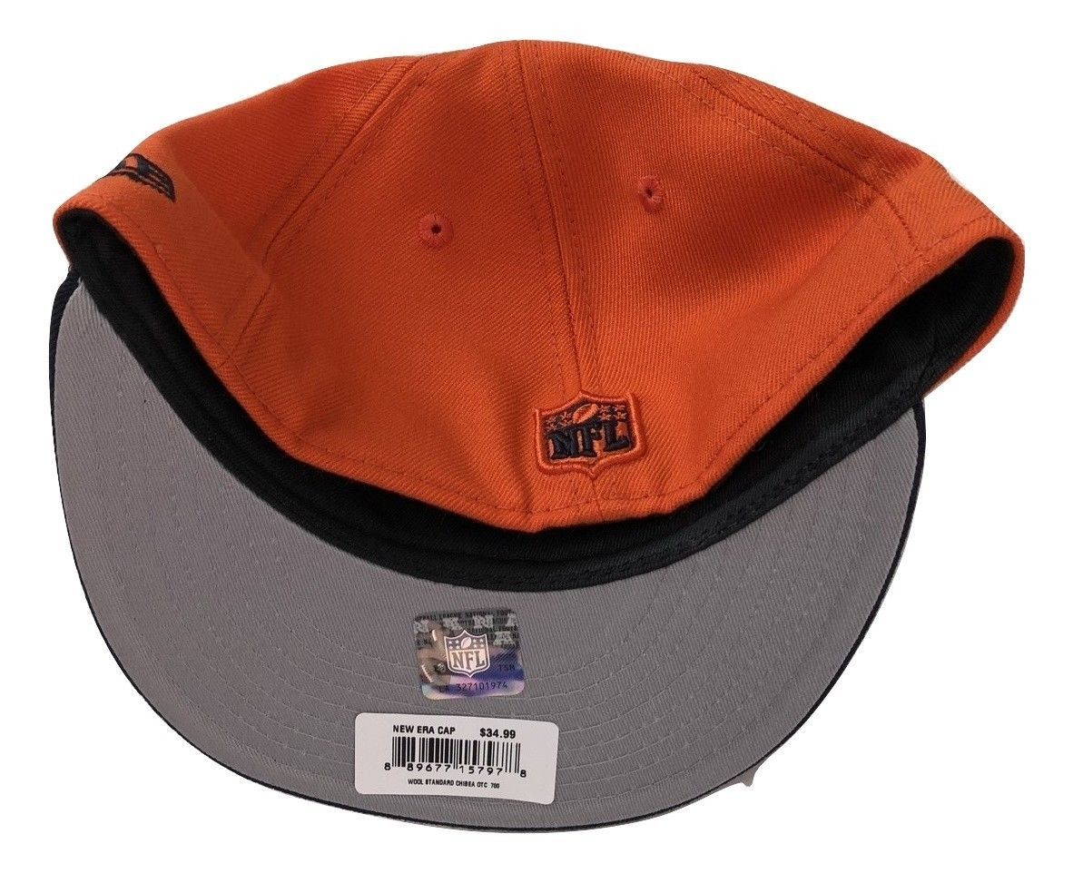 NWT New Chicago Bears New Era 59Fifty Heritage Series Wool Size 7 Fitted Hat