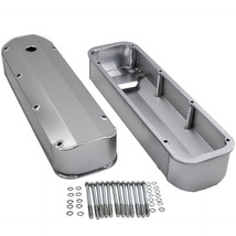Fabricated Aluminum Tall Valve Covers For Ford BBF 429 460 V8 Big Block New - $121.82