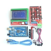 Mega 2560 R3 Mega2560 REV3 + 1pcs RAMPS 1.4 Controller +RAMPS1.4 LCD 128... - $28.70