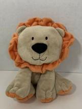 Just One Year Carter's plush lion baby toy tan orange - $8.90