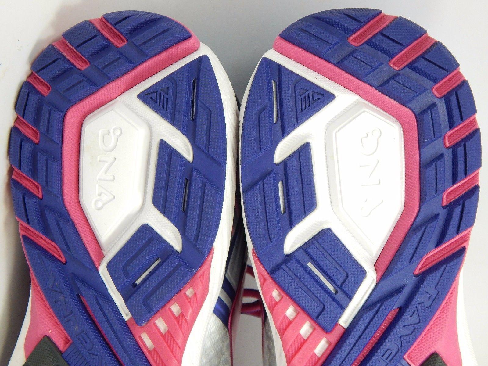 Brooks Ravenna 8 Women's Running Shoes Sz US 11.5 M (B) EU 44 Silver 1202381B089