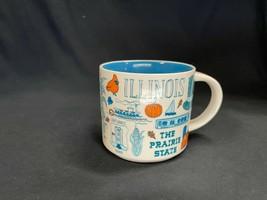 Starbucks Illinois Mug Coffee Been There Series Across the Globe 2018 - $24.69