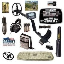 Garrett AT Pro Metal Detector with Camo Detector Bag, Pro Pointer II, an... - $15.094,25 MXN