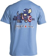 Puppie Love Rescue Dog Adult Unisex Short Sleeve Graphic T-Shirt, Super ... - $19.99