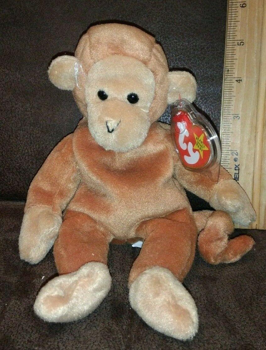 Bear 2003 Ty Beanie Baby Whittle MWMT