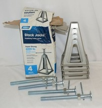 Camco 44560 Stack Jacks Set Of 4 Travel Trailer Stabilizers image 1
