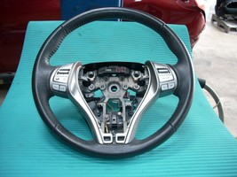 2014 NISSAN ALTIMA STEERING WHEEL WITH RADIO AND CRUISE CONTROLS  - $80.00