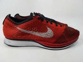 Nike Flyknit Racer Talla Eu 10 M (D) 44 Hombre Atletismo Zapatos Rojo 52... - $61.00