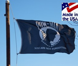 3x5 US POW MIA YOU ARE NOT FORGOTTEN Super-Poly In/Outdoor FLAG Banner*U... - $13.99
