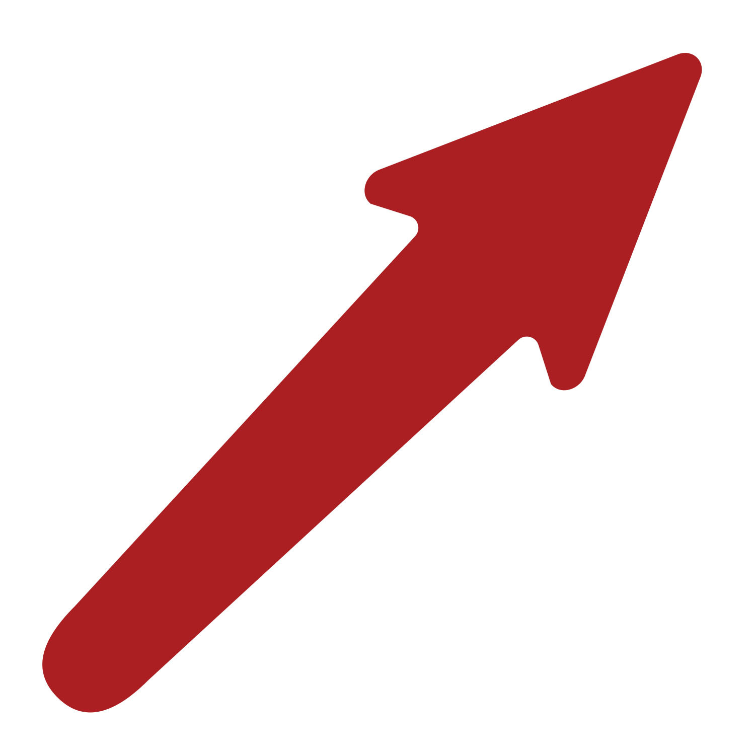 Primary image for LiteMark 11 Inch Red Adhesive Comet Arrow Decals - Pack of 10