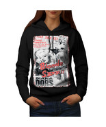 Blonde Spy Girl Fashion Sweatshirt Hoody Bombshell Spy Women Hoodie - $21.99+