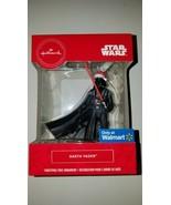Hallmark ornament disney star wars darth vader santa hat new in box chri... - $20.95