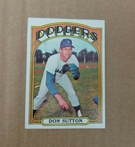 1972 Topps Don Sutton #530 Baseball Card ExMt No Creases Dodgers HOF PSA - $12.59