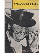 """National Theatre Playbill """"PICKWICK"""" Sept 1965 Book by Wolf Mankowitz - $3.00"""