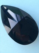10pcs/lot Black Glass Crystal Prisms Pendants Chandelier Part Lighting Hang Drop - $12.07