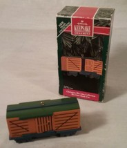 1992 HALLMARK KEEPSAKE ORNAMENT CHRISTMAS SKY LINE COLLECTION TRAIN STOC... - $28.70