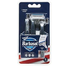 Barbasol Ultra 3 Premium Disposable Razor, 4 Count image 1