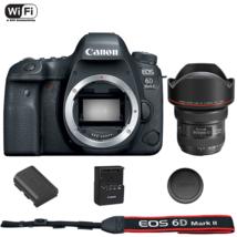 Canon EOS 6D Mark II DSLR Camera Body with EF 11-24mm f/4L USM Lens - $3,616.82