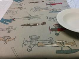 ANTIQUE PLANES TABLE Runner-  Choose size,  Runner, Vintage,  Modern Air... - $9.00