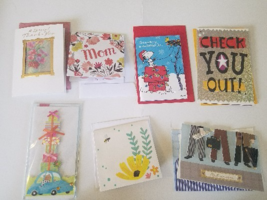NEW 7 Greeting Cards with Pop-Ups, Embellishments, and Music (bundle 1) - $5.99