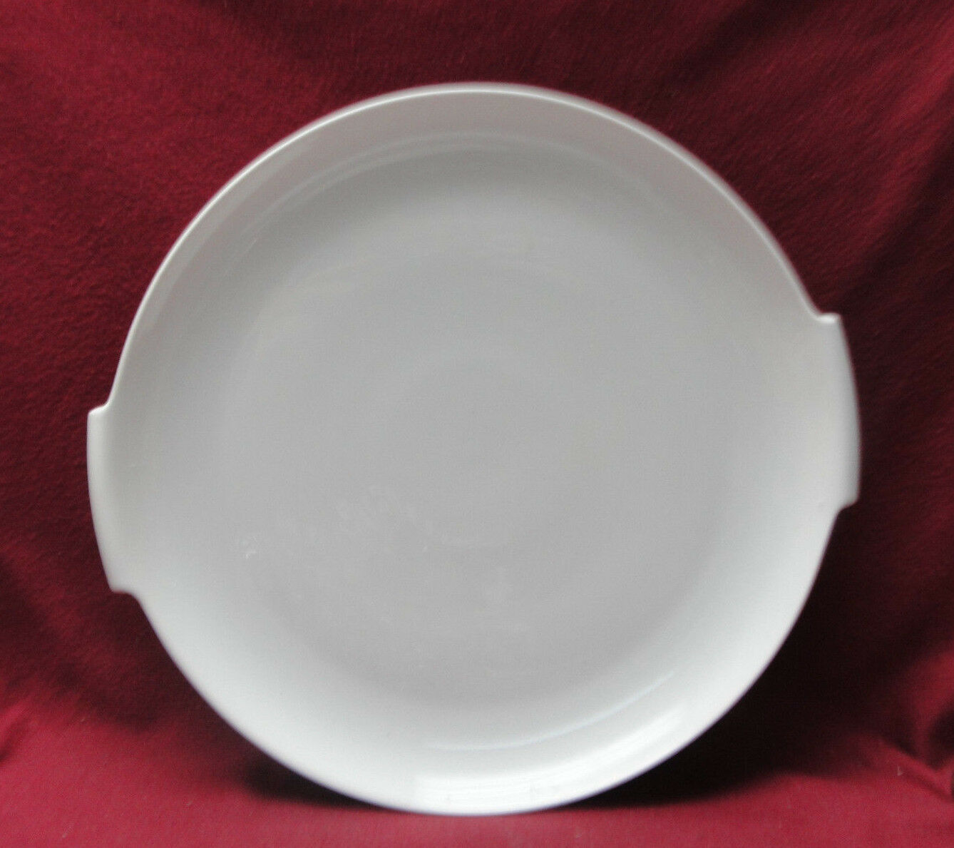 "Primary image for ROSENTHAL China - HELENA Pattern (all white) - 12"" Handled SANDWICH / CAKE PLATE"