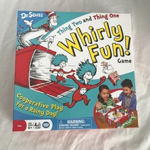 Dr. Seuss Thing Two Thing One Whirly Fun Game Play For Rainy Day Ages 4+... - $11.51