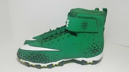 Men's Nike Force Savage Shark Football Cleats in Green 880109-310 Sz 9 - $33.25