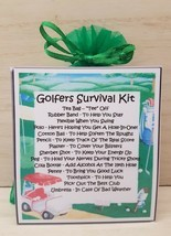 Golfers Survival Kit - Unique Fun Novelty Gift & Card All In One - £5.29 GBP