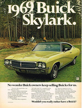Vintage 1969 Magazine Ad Buick Skylark If You Are After Good Looks Just Look - $5.93