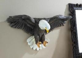 """Soaring BALD EAGLE Wall Decor 25"""" 3D Art Sculpture Figurine Accent NEW #... - $56.98"""