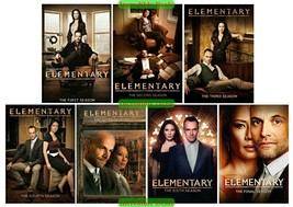Elementary The Complete Series Seasons 1 2 3 4 5 6 7 DVD Collection New Set 1-7 - $68.00