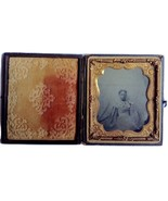 19th Century Jailed African American Young Girl Identified 1/6th Plate T... - $50,000.00