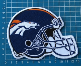 Denver Broncos NFL Football Superbowl Jersey HELMET Patch sew embroidery - $20.00