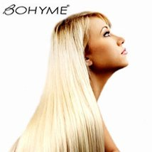 "Bohyme Gold Collection European Straight Remy Weaving for Hair Extensions 16"" 1B - $163.05"
